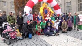 Arthritis Foundation :15 English Jingle Bell Run TV PSA