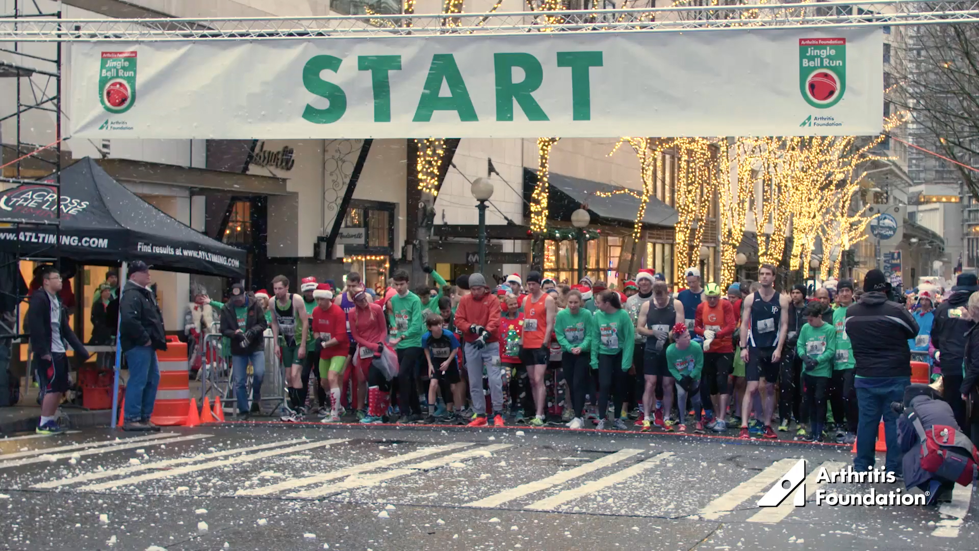 THE ARTHRITIS FOUNDATION OFFERS NEW PSAs:  JINGLE BELL RUN 2018
