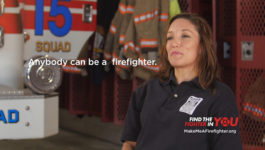 Anyone can be a Firefighter :15 TV PSA
