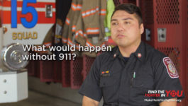 Anyone can be a Firefighter :30 TV PSA