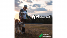 :15 Arthritis Foundation Vim Radio PSA